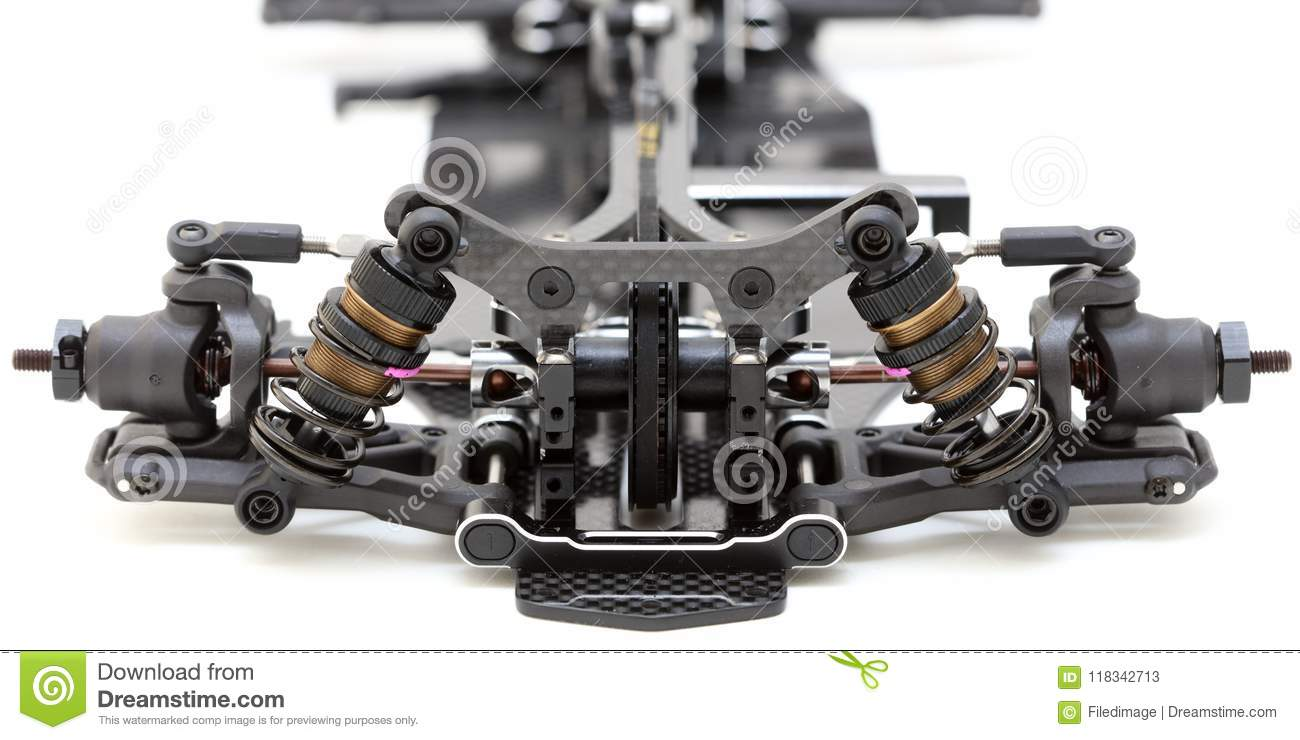 Rc Car Chassis And Parts Stock Image Image Of Sport 118342713
