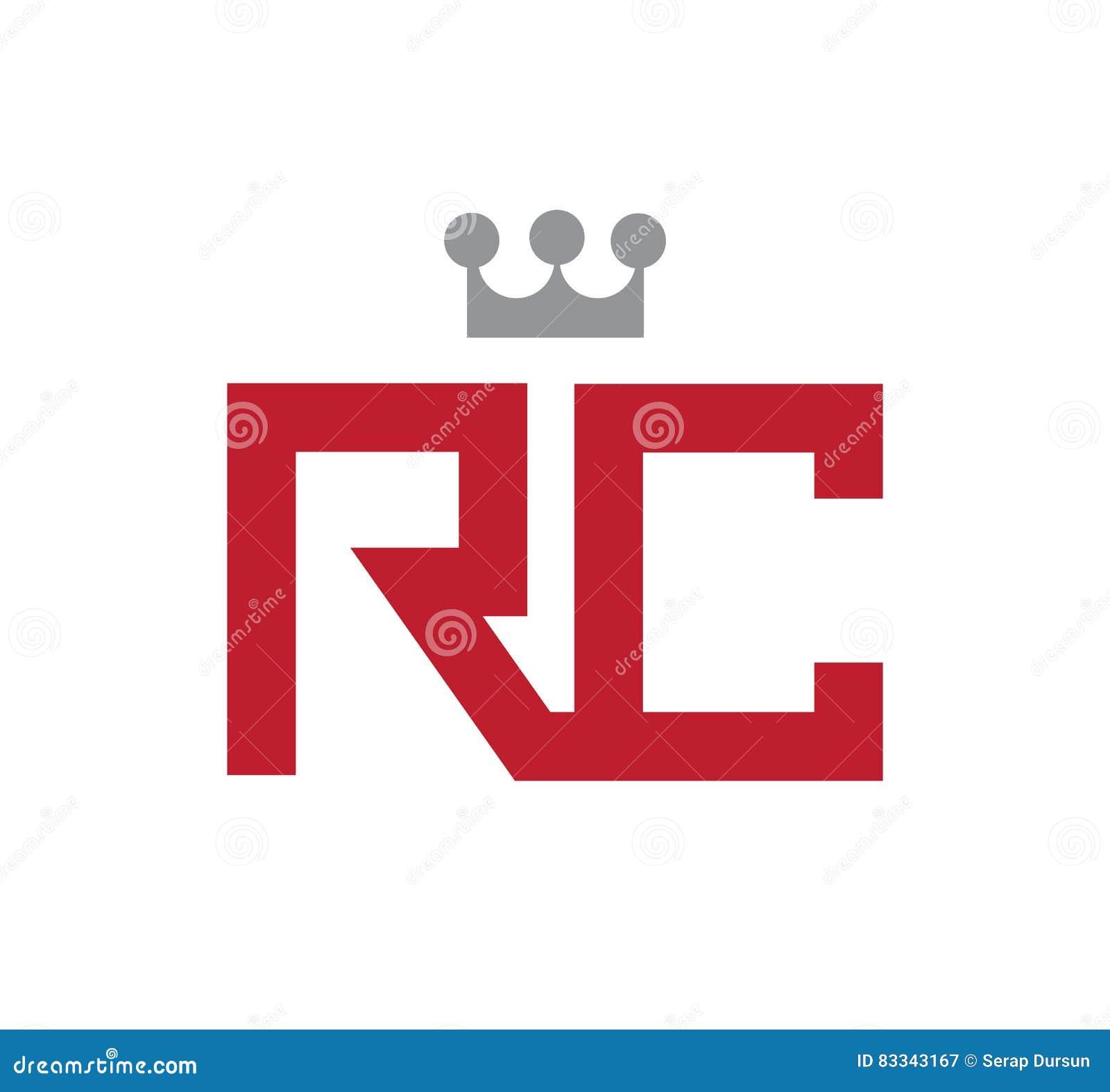 rc logo concept illustrazione vettoriale immagine 83343167. Black Bedroom Furniture Sets. Home Design Ideas