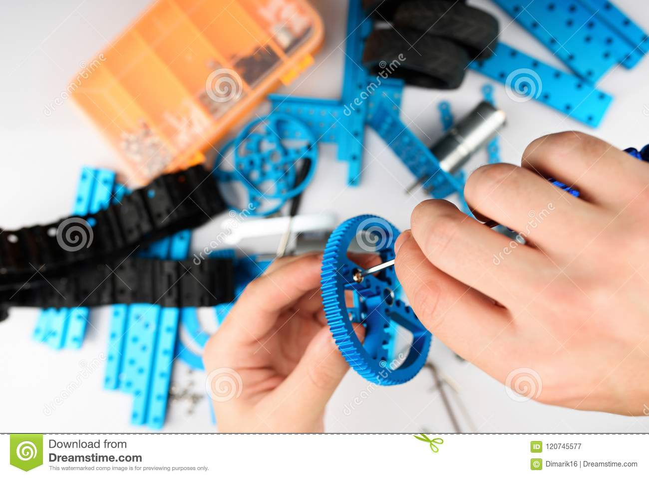 Rc modeling concept stock image  Image of maintenance