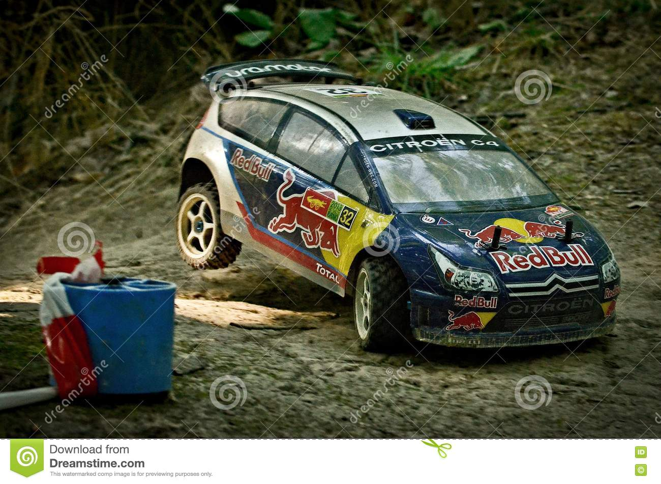 Rc Rally Car Citroen C4 Wrc Editorial Photo Image 74672621