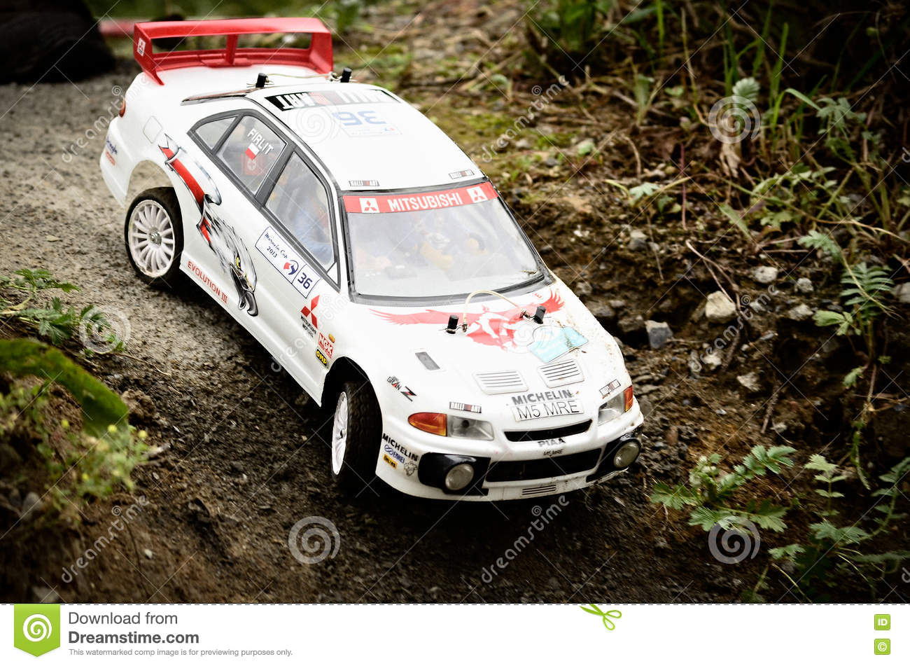 Rc Rally Car Stock Photo 74648832 - Megapixl