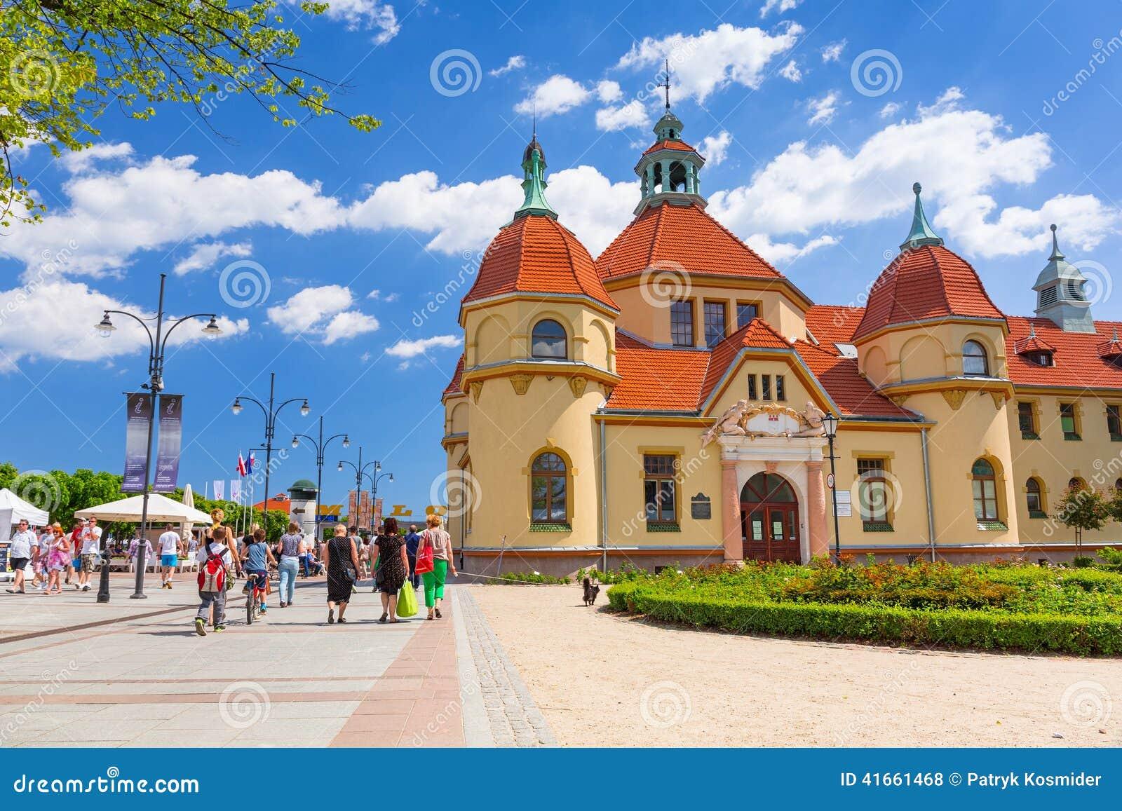 Rchitecture Sopot на Molo в Польше