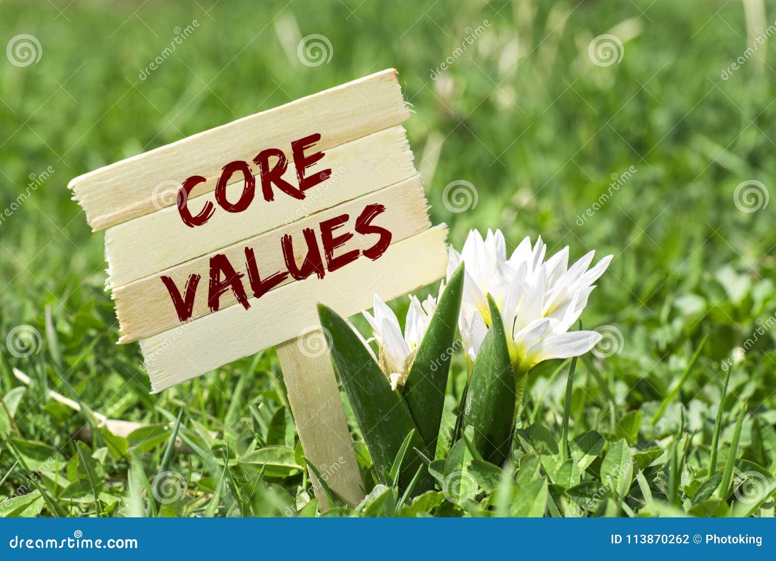 Rdzeniuje wartości