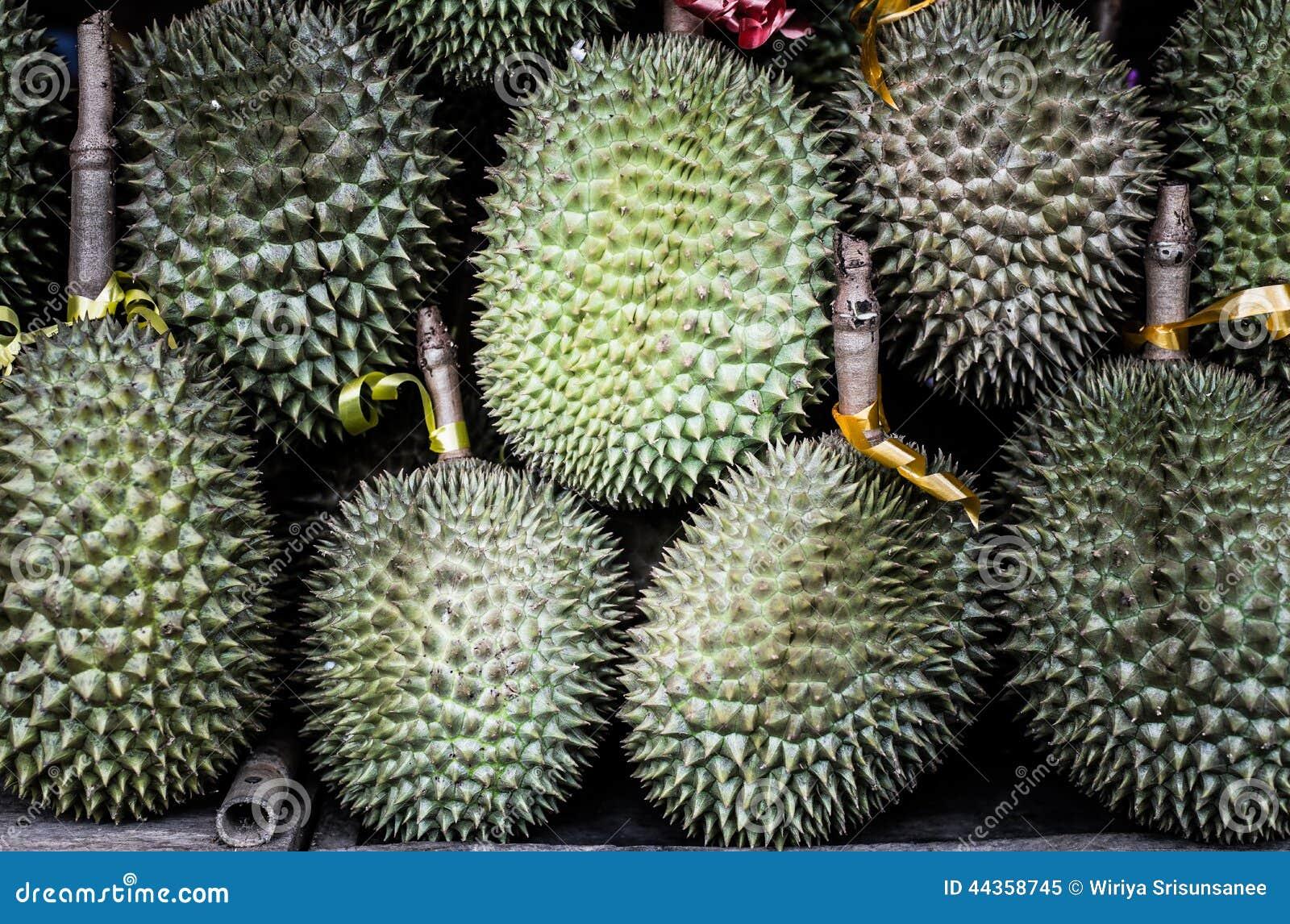 Re del Durian di frutta