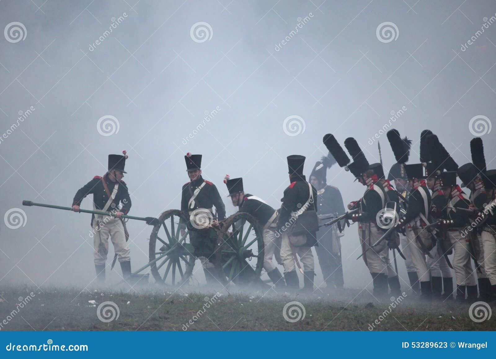 Re-enactment of the Battle of Austerlitz (1805), Czech Republic.