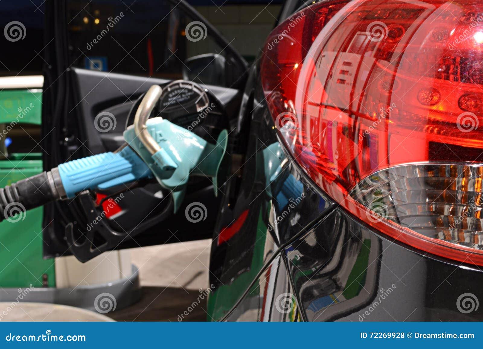 Reabastecimento do carro