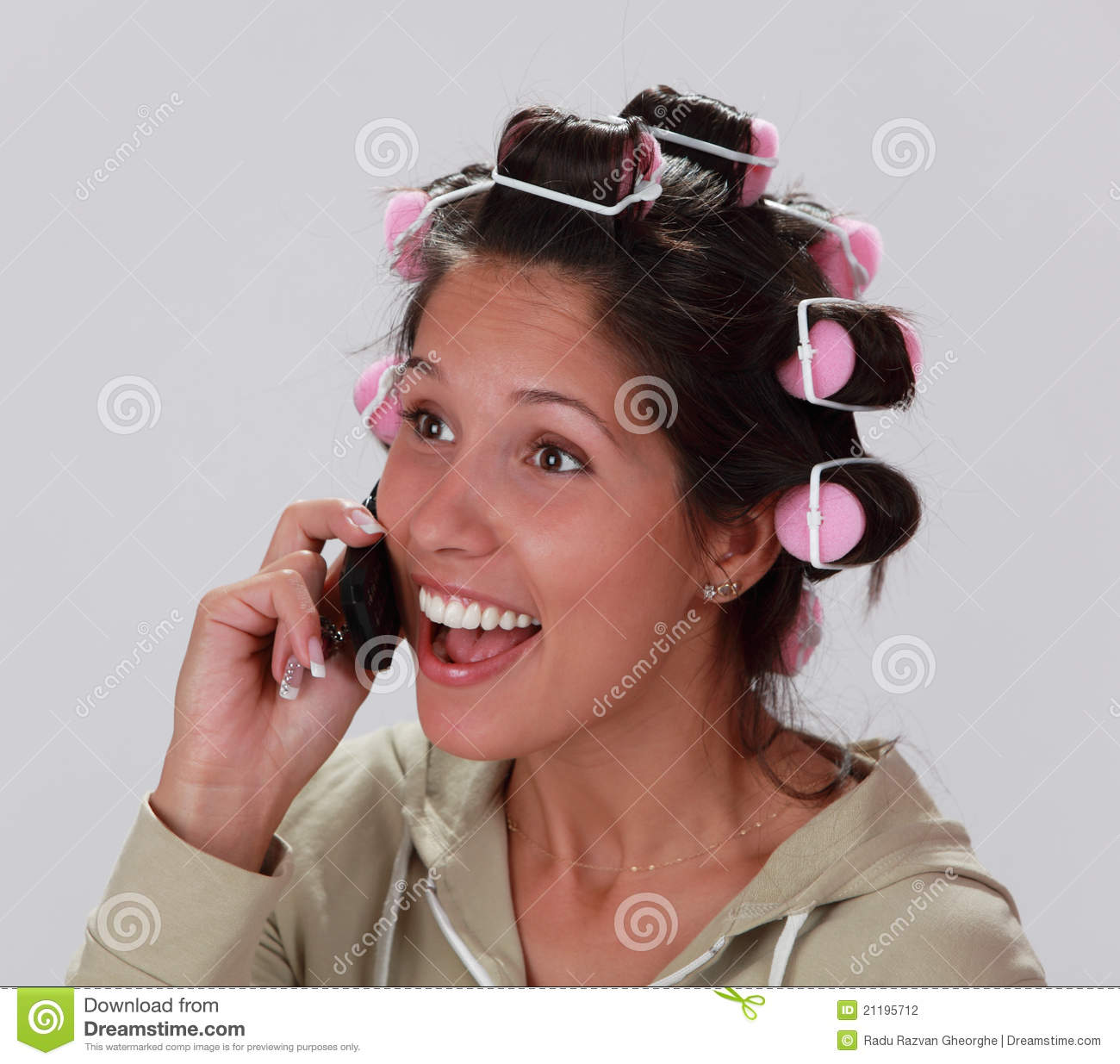 Reaction on the phone