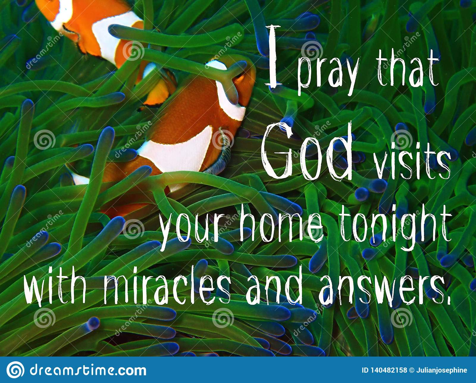 God Visits Our Home Design For Christianity With Underwater