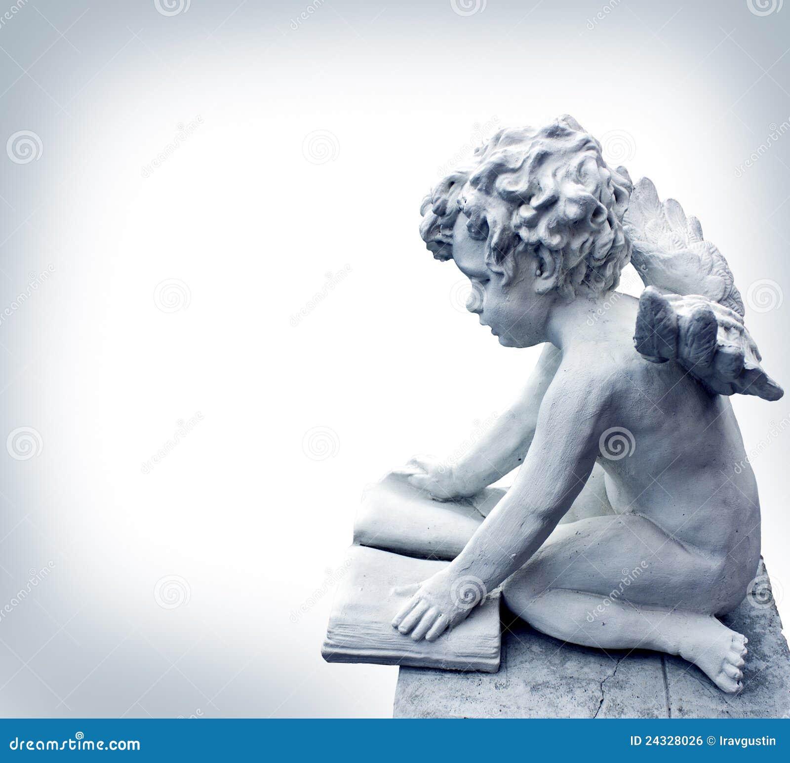 Reading Angel Royalty Free Stock Image Image 24328026