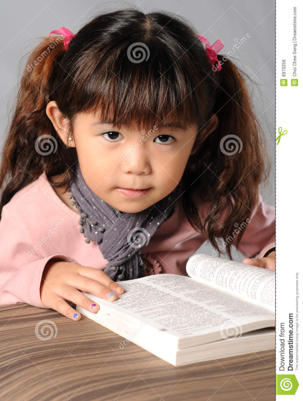 Reading Book Royalty Free Stock Image Image 6970256