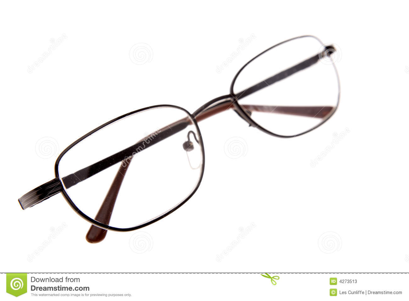 Reading Glasses Reading glasses isolated over