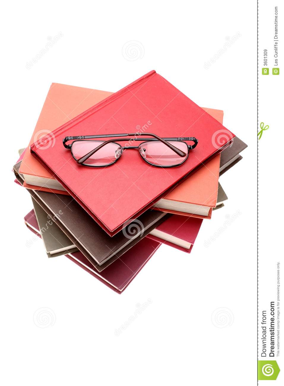 glasses on book - photo #40
