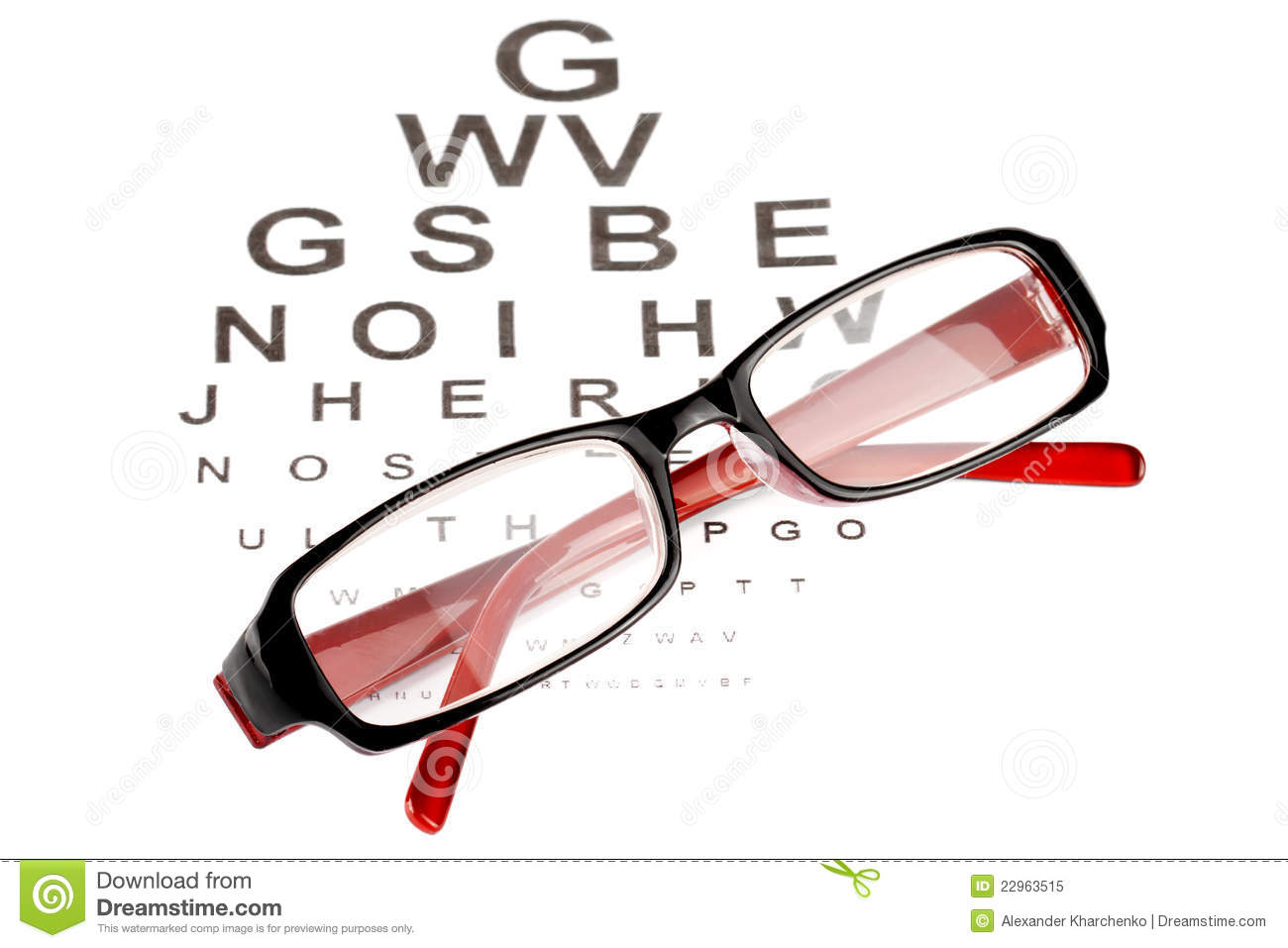 Reading glasses with eye chart stock image image 22963515 reading glasses with eye chart nvjuhfo Image collections