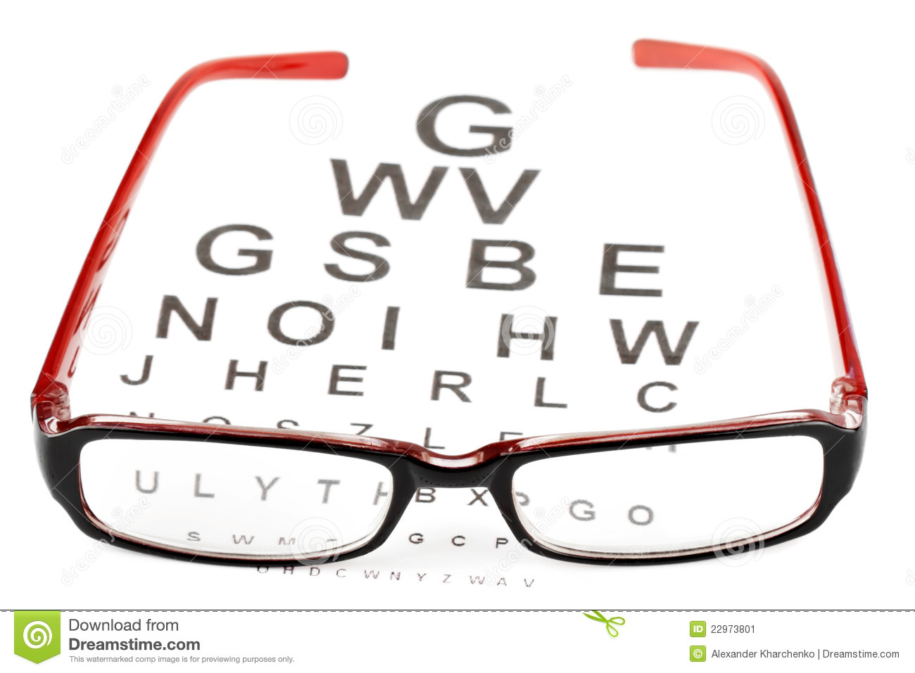Reading glasses with eye chart stock image image 22973801 reading glasses with eye chart nvjuhfo Image collections
