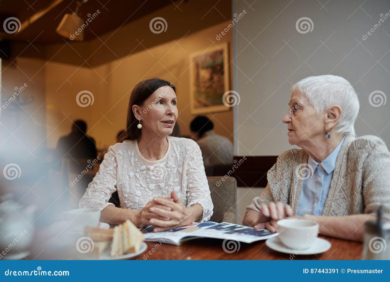 Talking to females