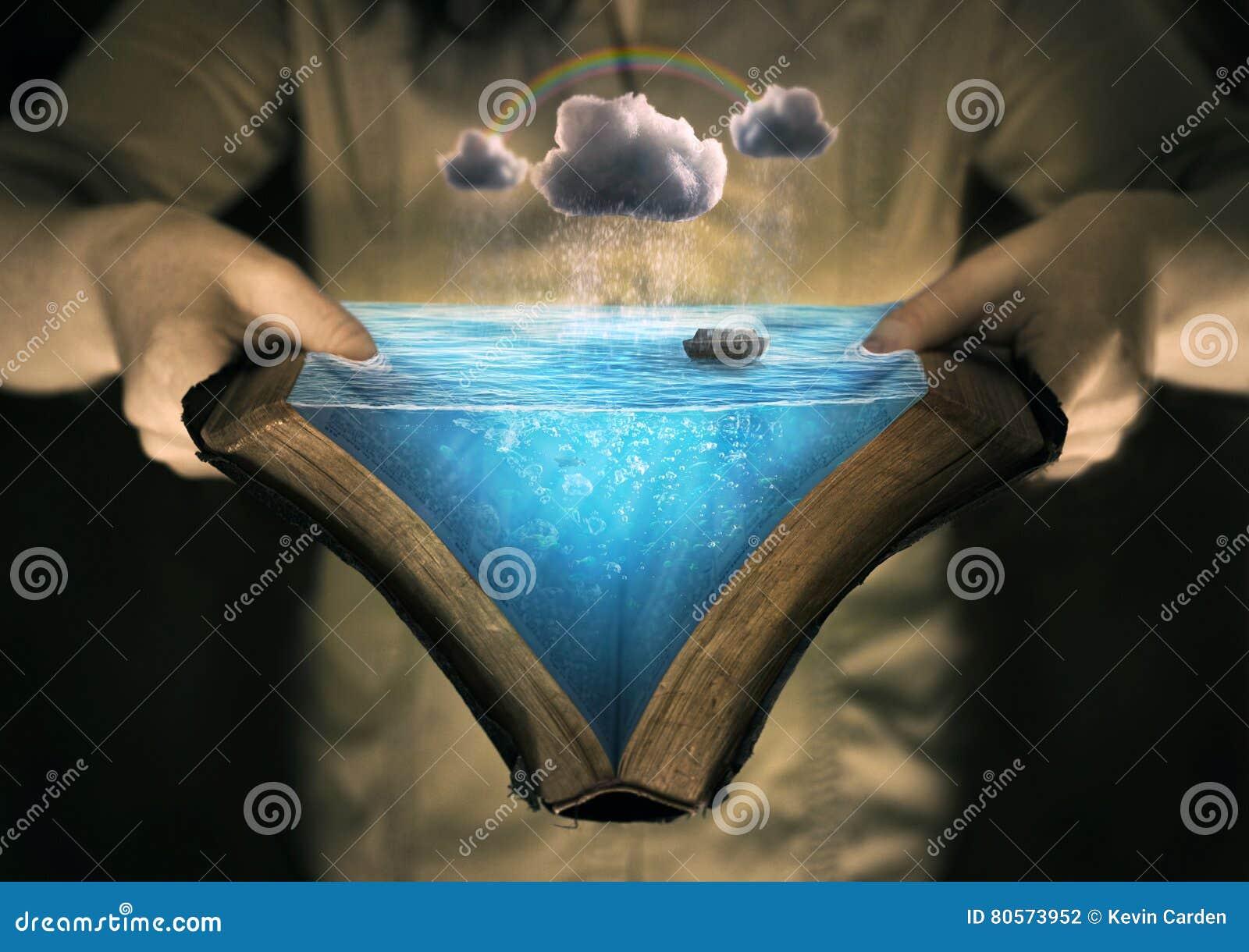 Reading the story of Noah`s ark