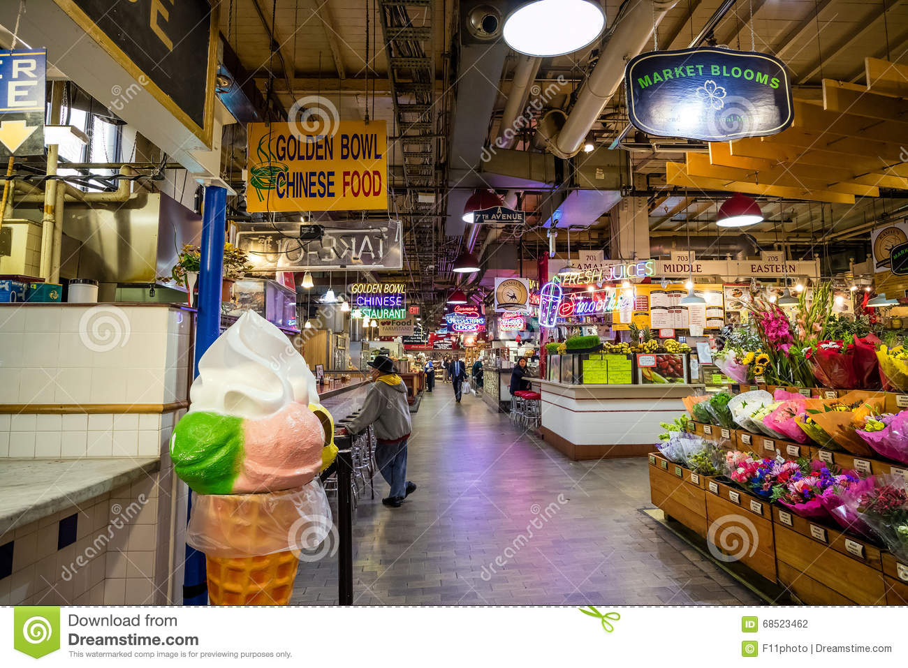 reading terminal market. reading terminal market editorial photography image of indoor