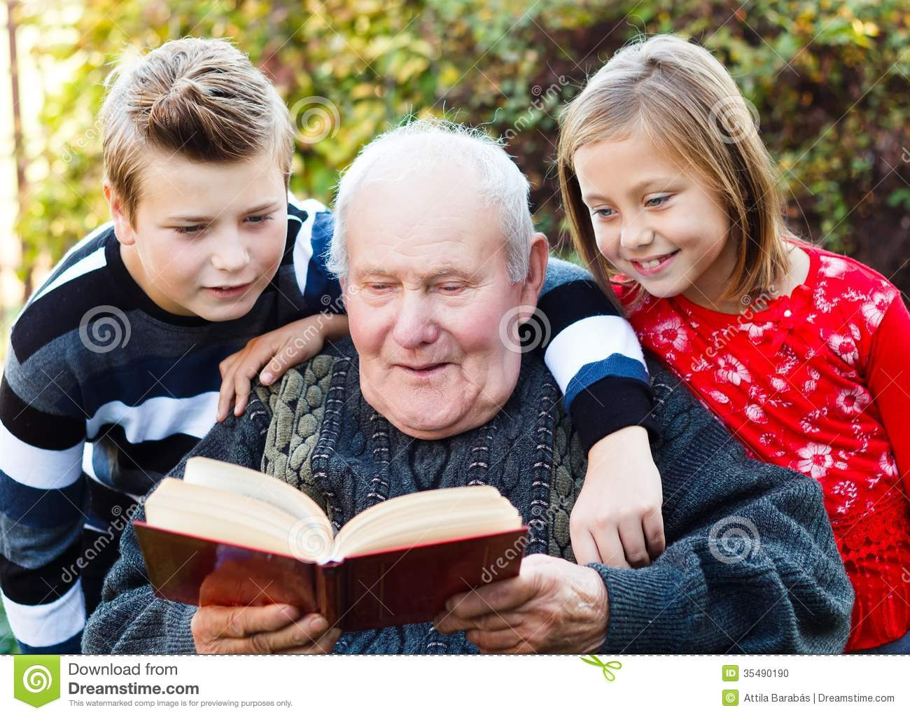 Stories About Grandparents and Grandchildren
