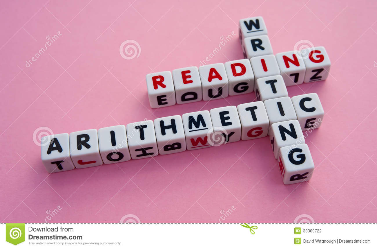 reading writing and arithmetic rare