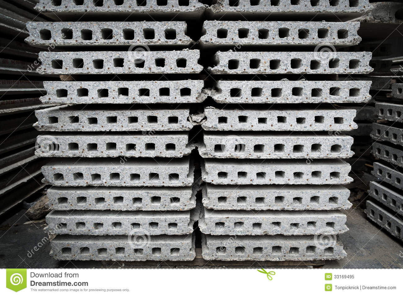 Ready Made Concrete : Ready made cement wall stock image of architecture
