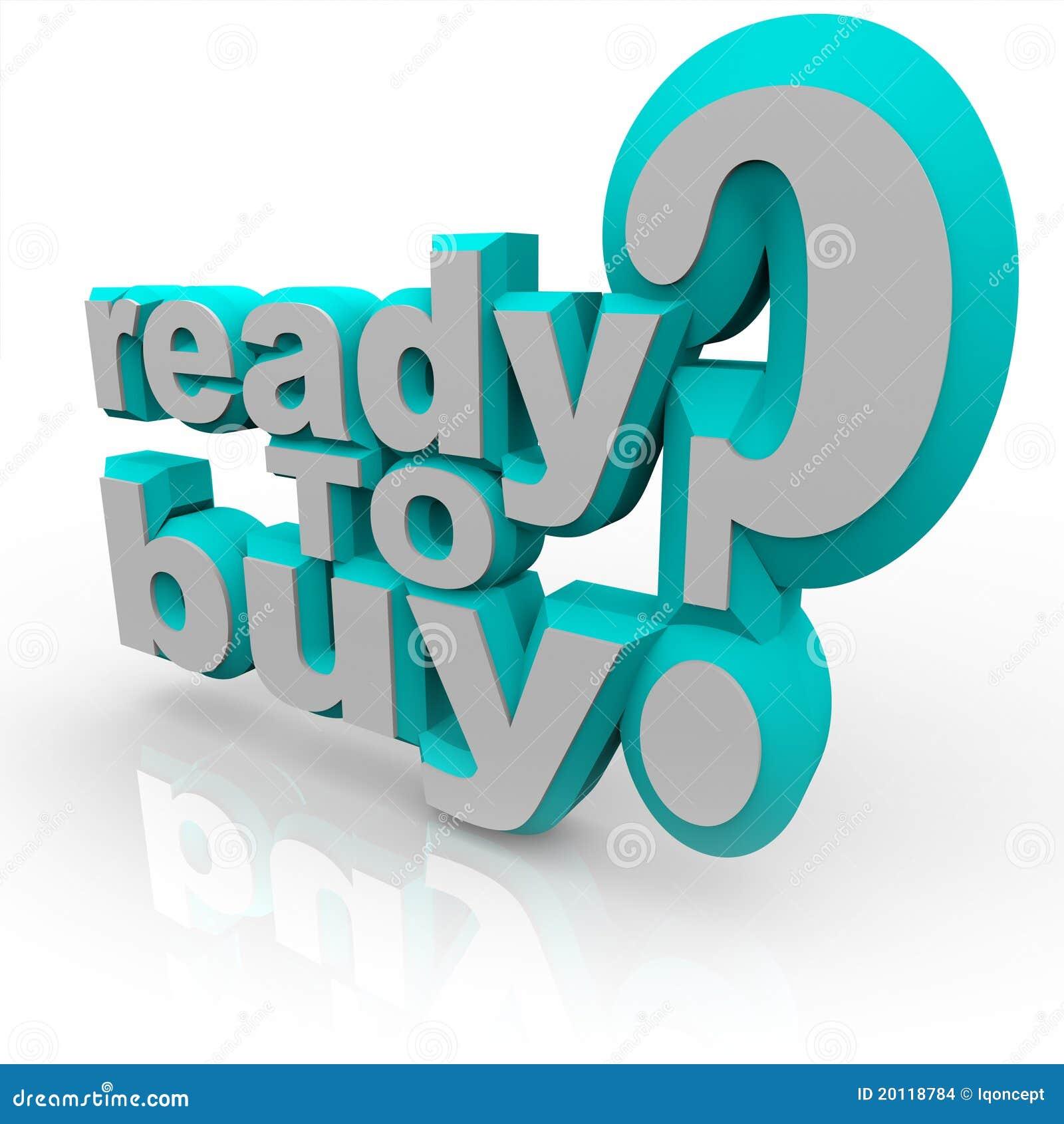 Ready per comprare le parole - faccia il vostro lavoro
