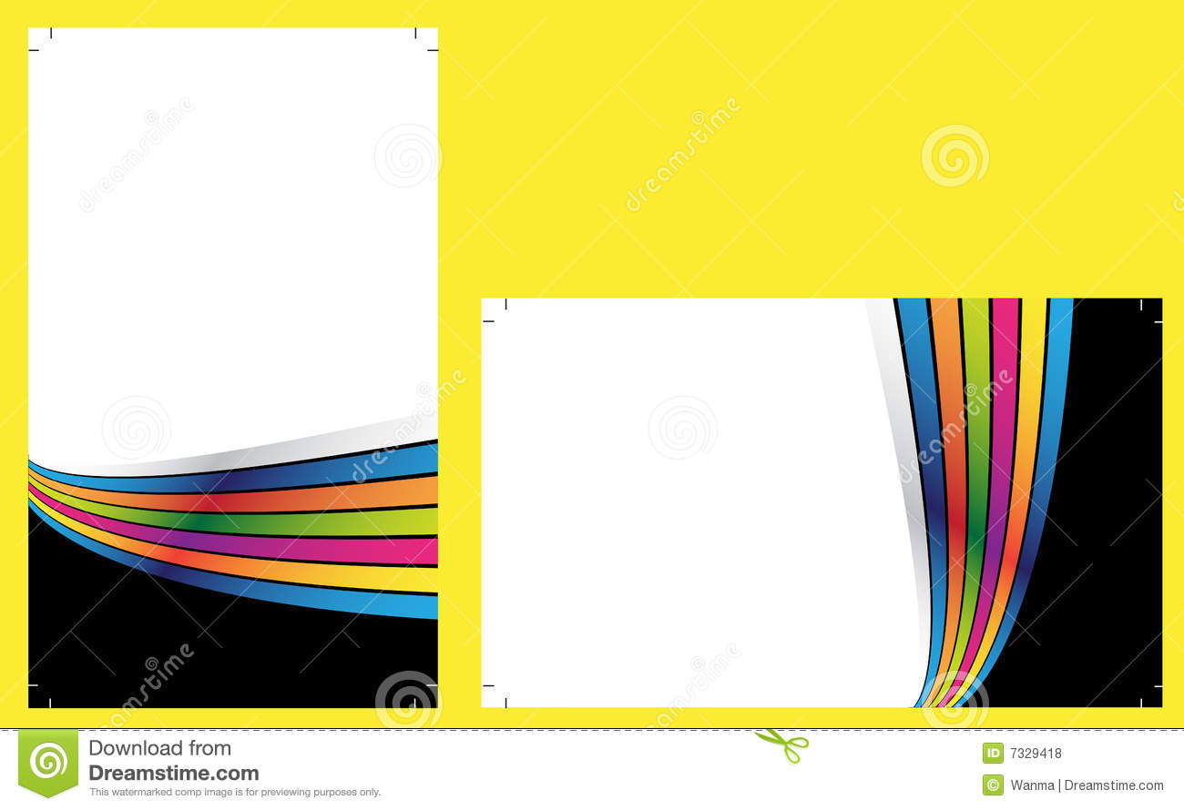 Ready To Print Business Cards Royalty Free Stock s