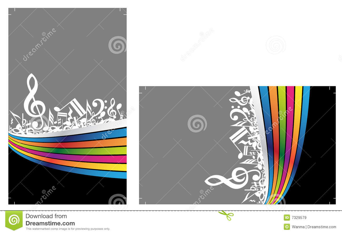 ready to print business cards royalty free stock images