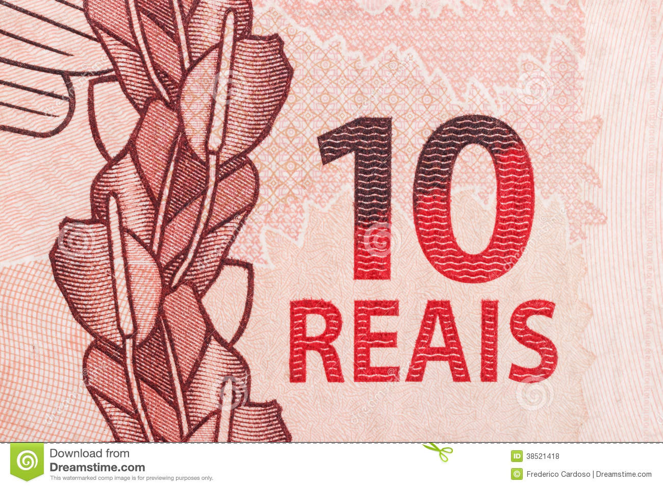 10 Reais Bill Royalty Free Stock Photos - Image: 38521418