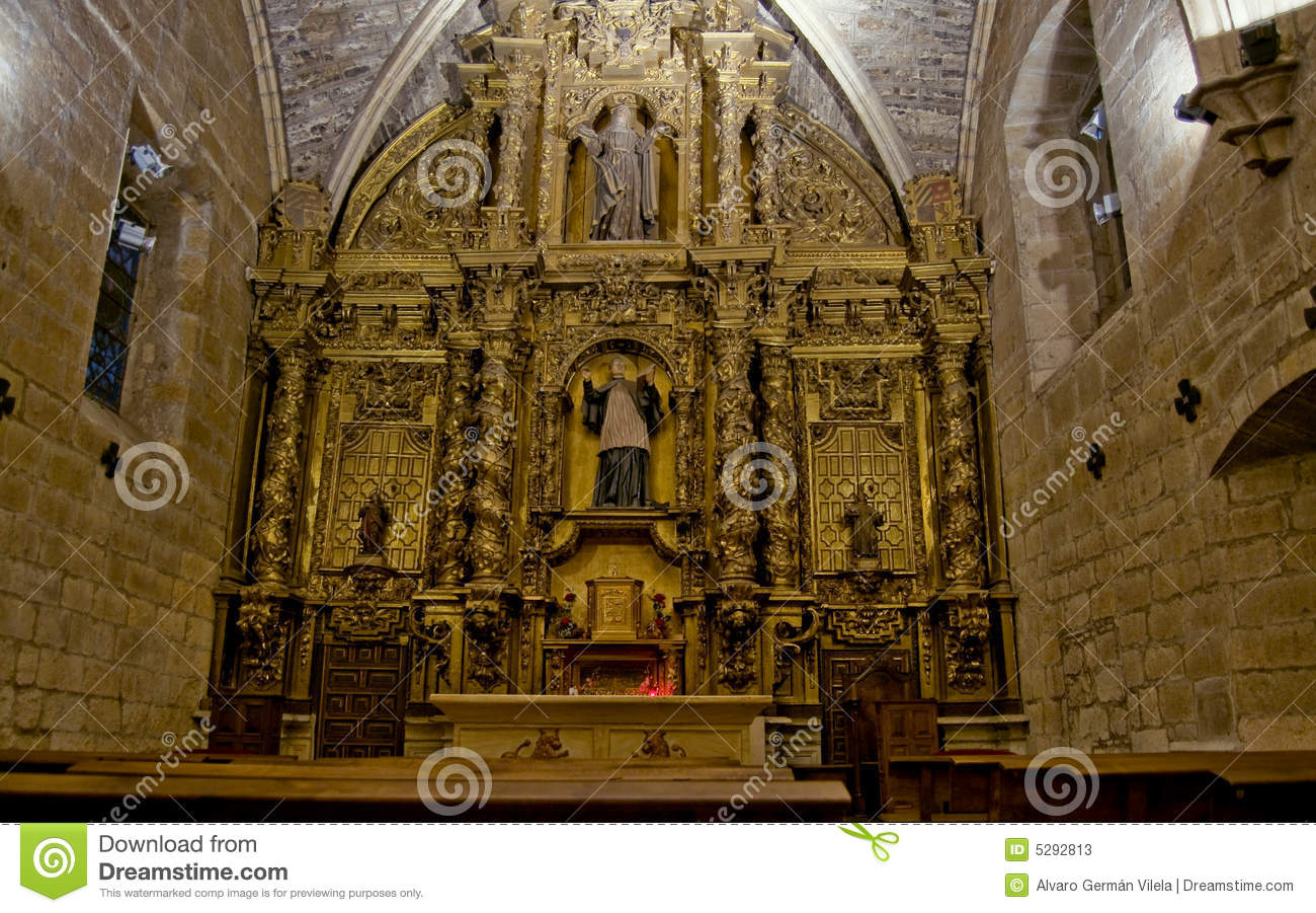 Real Basilica De San Isidoro In Leon. Spain Stock Photos - Image: 5292813