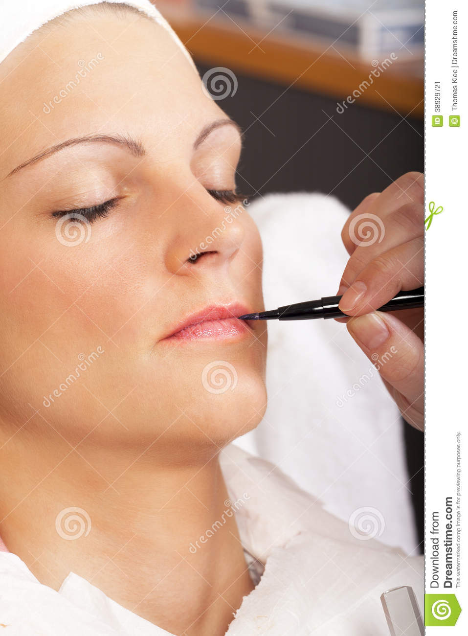 Real Beauty And Cosmetics Treatment - Series Stock Image