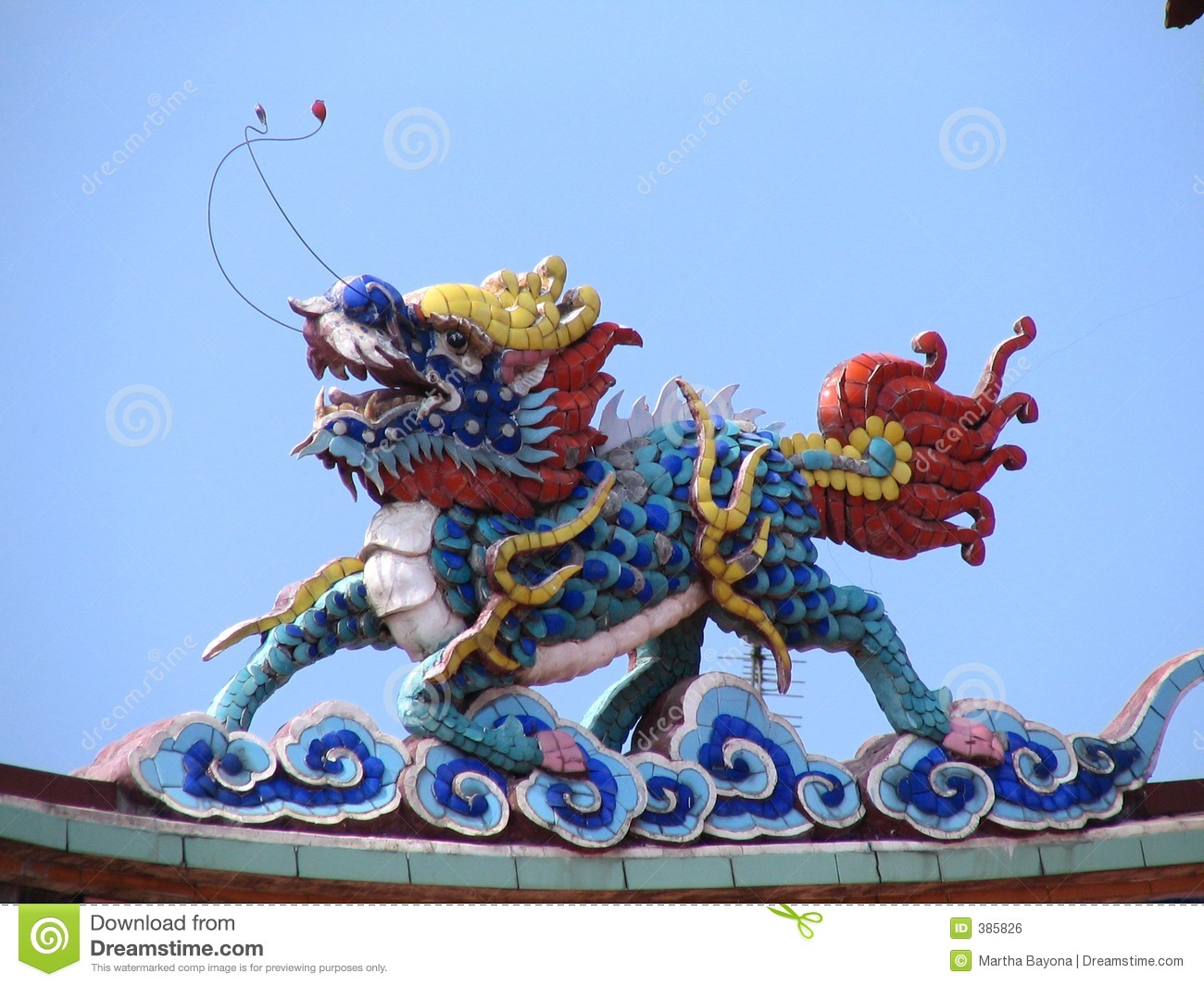 Real Chinese Dragon Stock Photo Image Of Monument China 385826