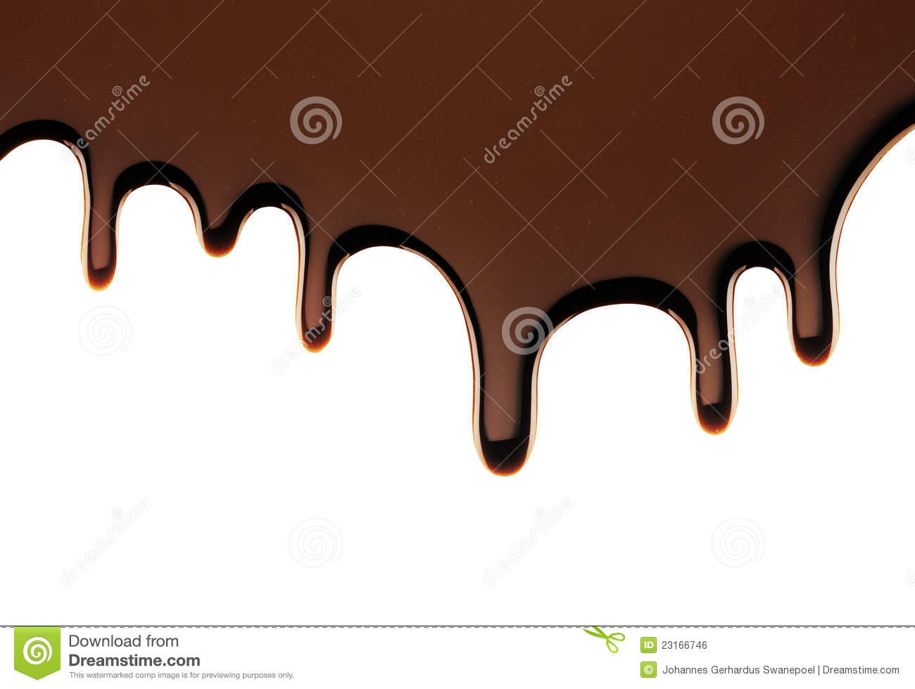 real chocolate dripping stock photo. image of ingredient - 23166746