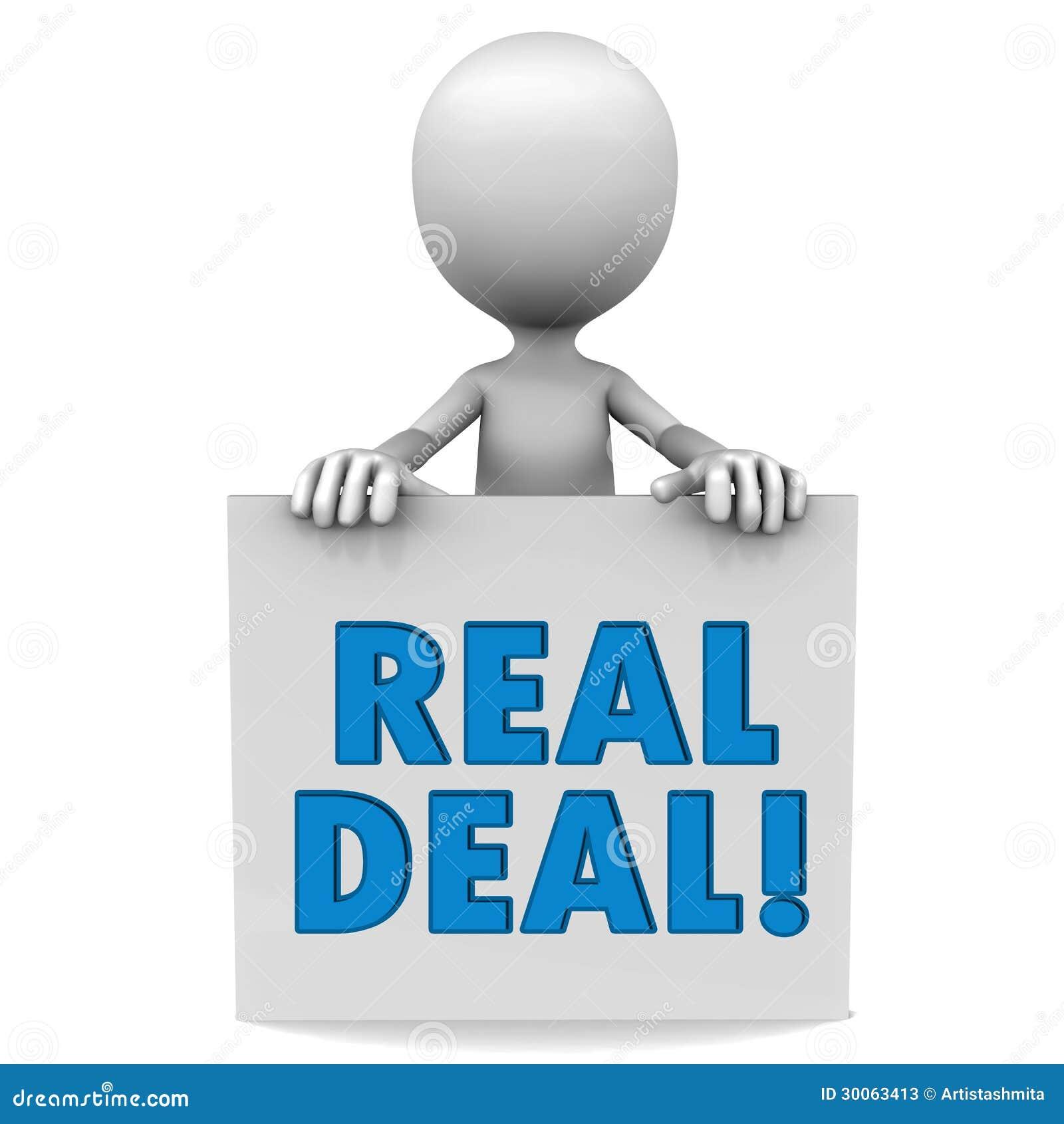 Real Deal Stock Photos Image 30063413