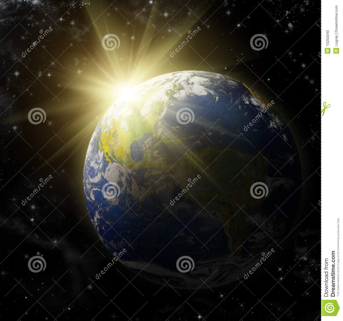 Real Earth Planet