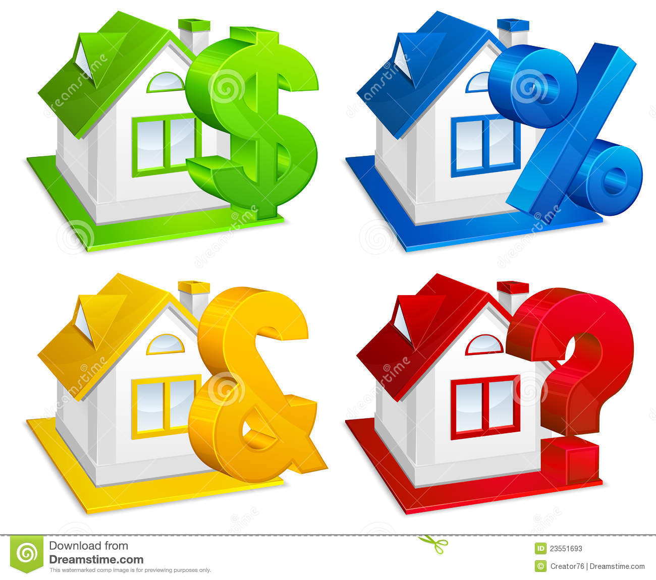 Real estate stock photos image 23551693 for Clipart estate