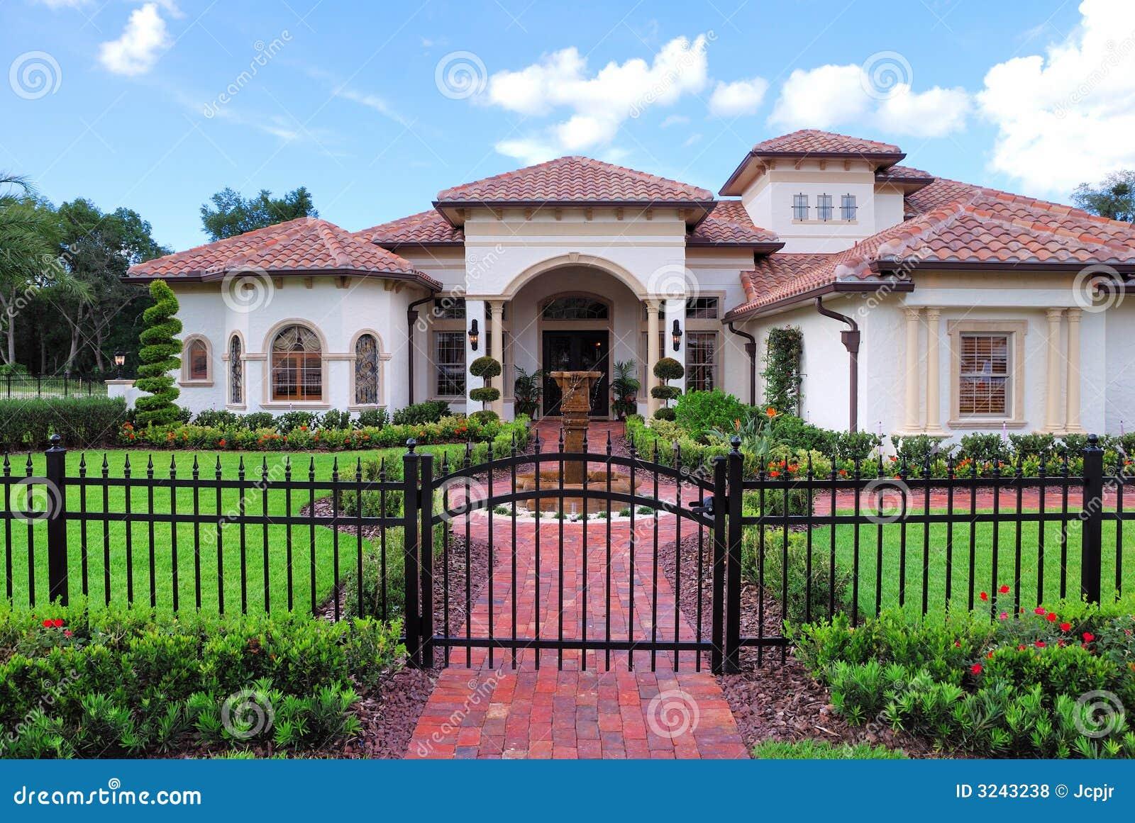 Real Estate stock photo. Image of sale, landscape, home ...