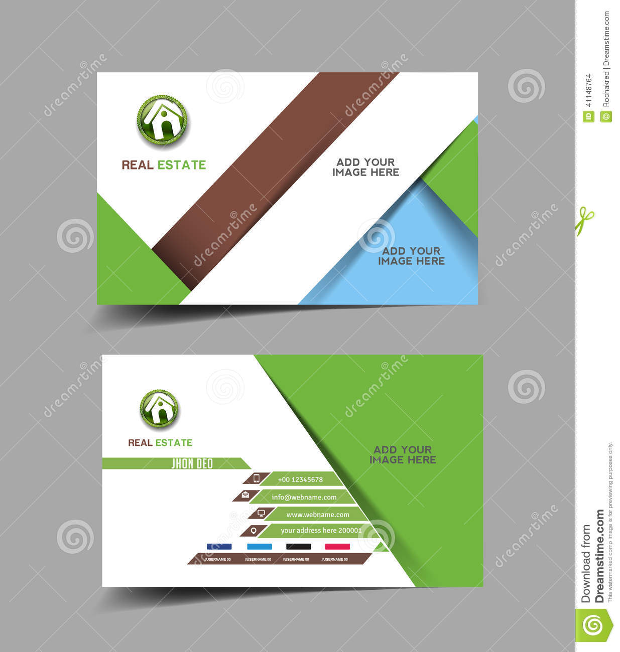 Real estate agent business card stock vector illustration of info download real estate agent business card stock vector illustration of info company 41148764 reheart Images