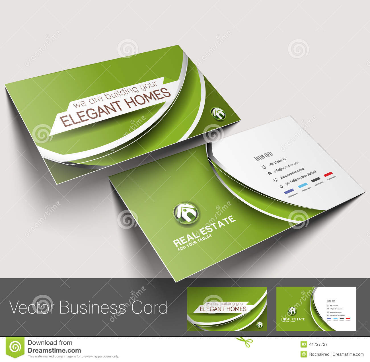 Real estate development business cards gallery card design and real estate business card template gallery templates example real estate agent business card stock vector illustration alramifo Gallery