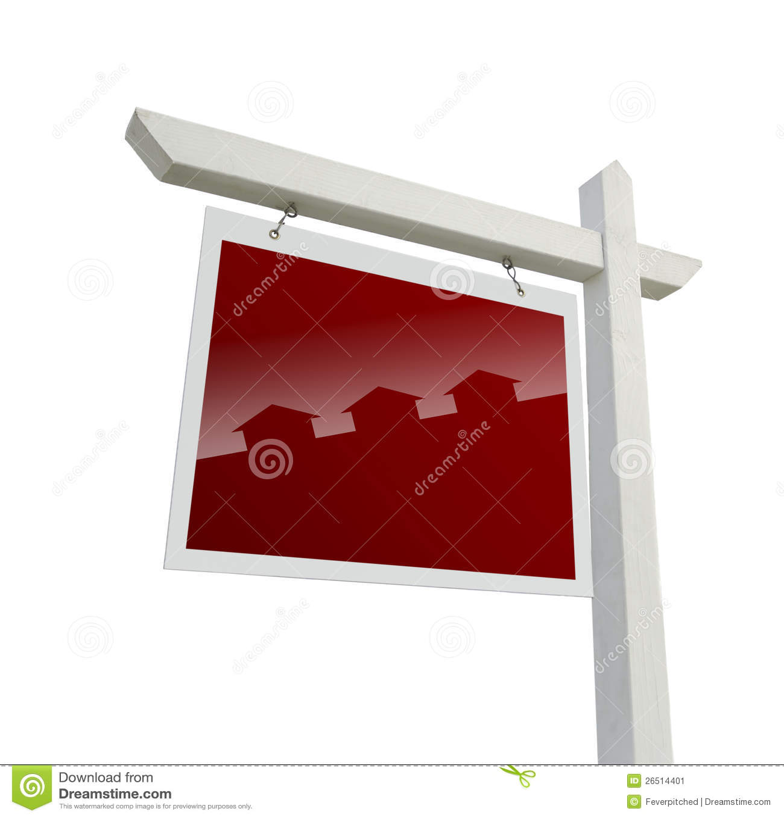Real Estate assina com a silhueta da casa com trajeto de grampeamento