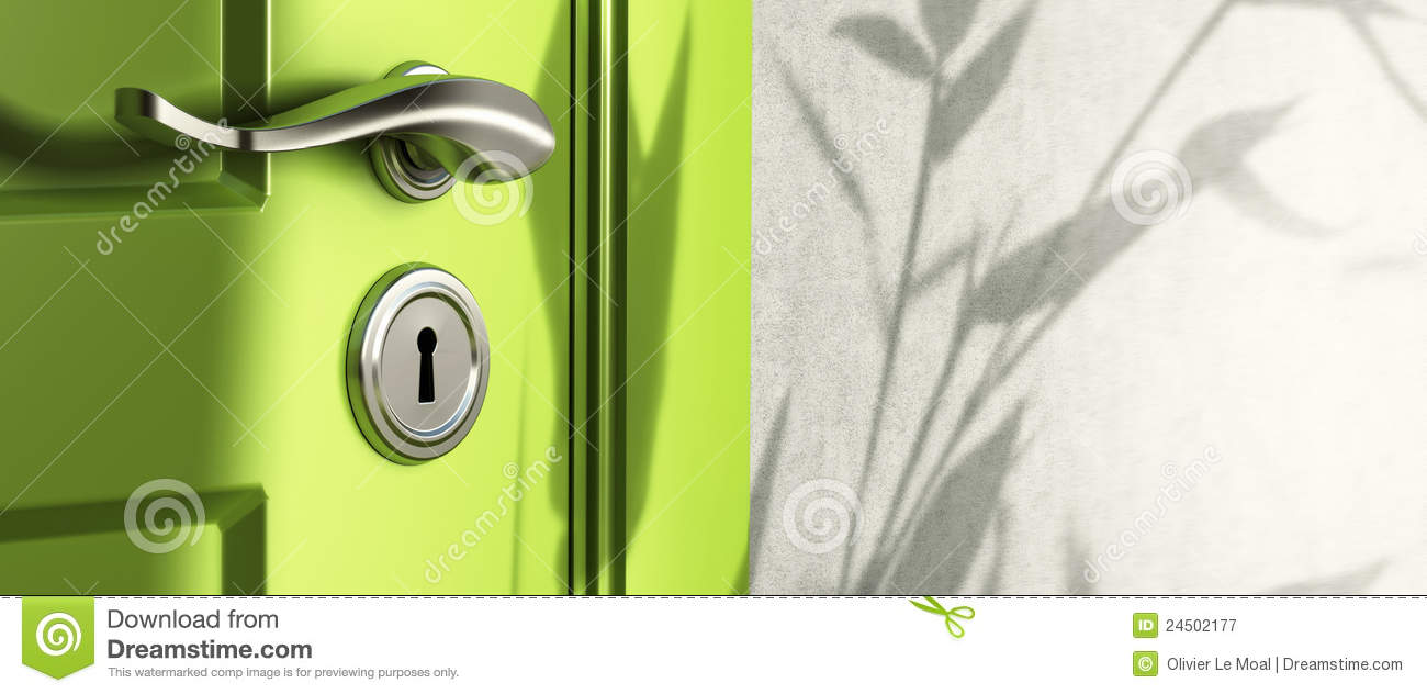Real estate banner door handle & Real Estate Banner Door Handle Stock Illustration - Illustration of ...