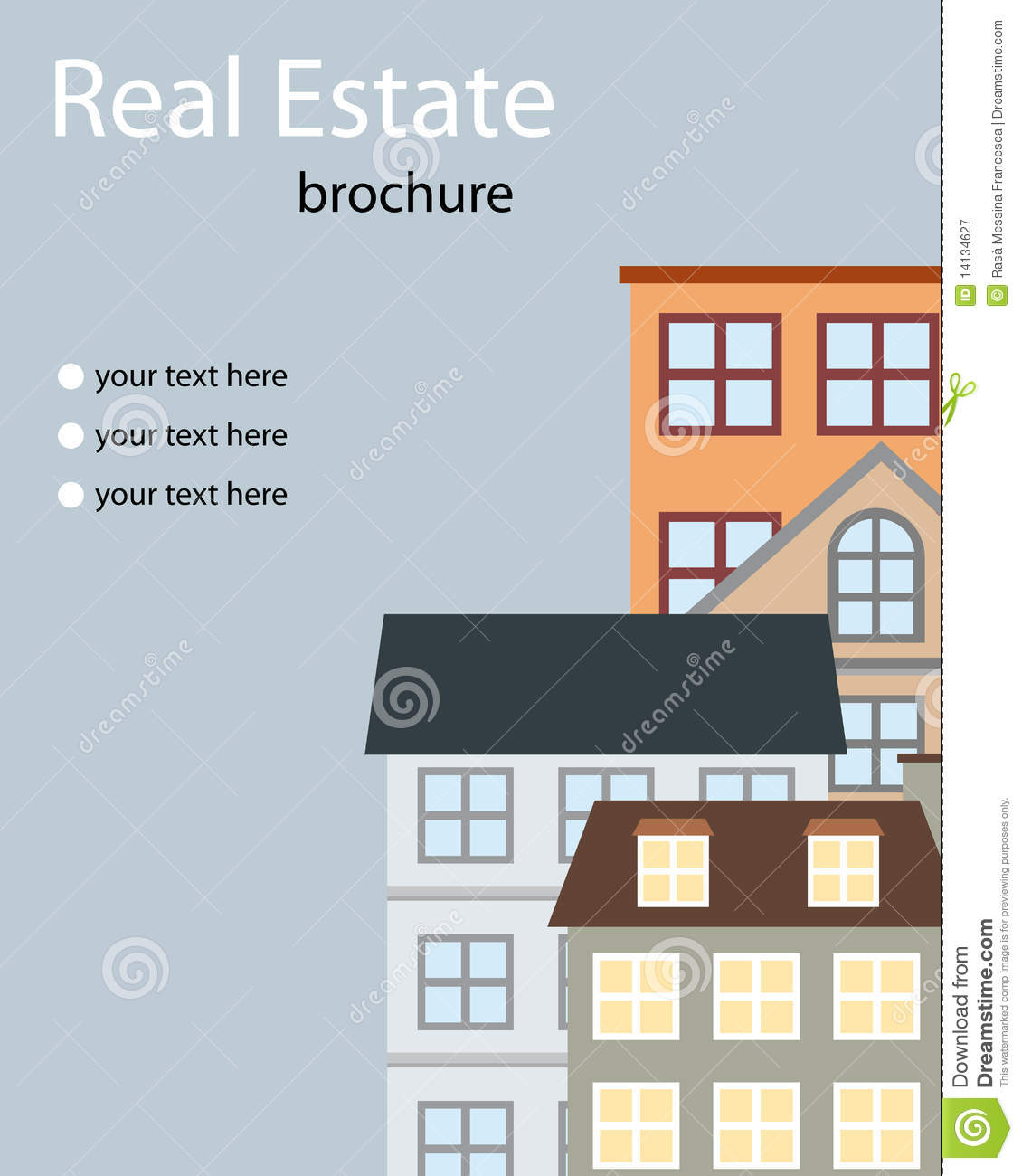 real estate brochure royalty stock photography image 14134627 real estate brochure