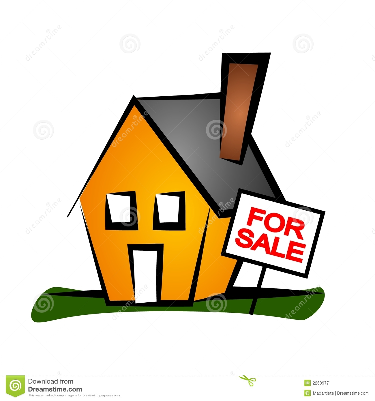 Real Estate Clip Art House 1 Royalty Free Stock Photography ...