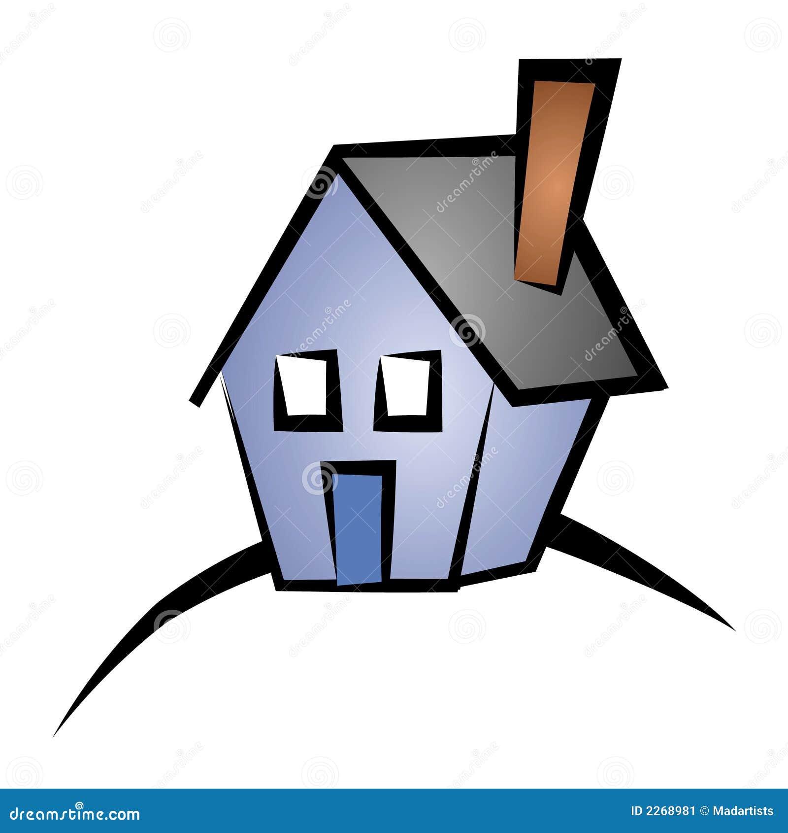 real estate clip art house 4 stock illustration illustration of rh dreamstime com free real estate clipart images Tax Clip Art