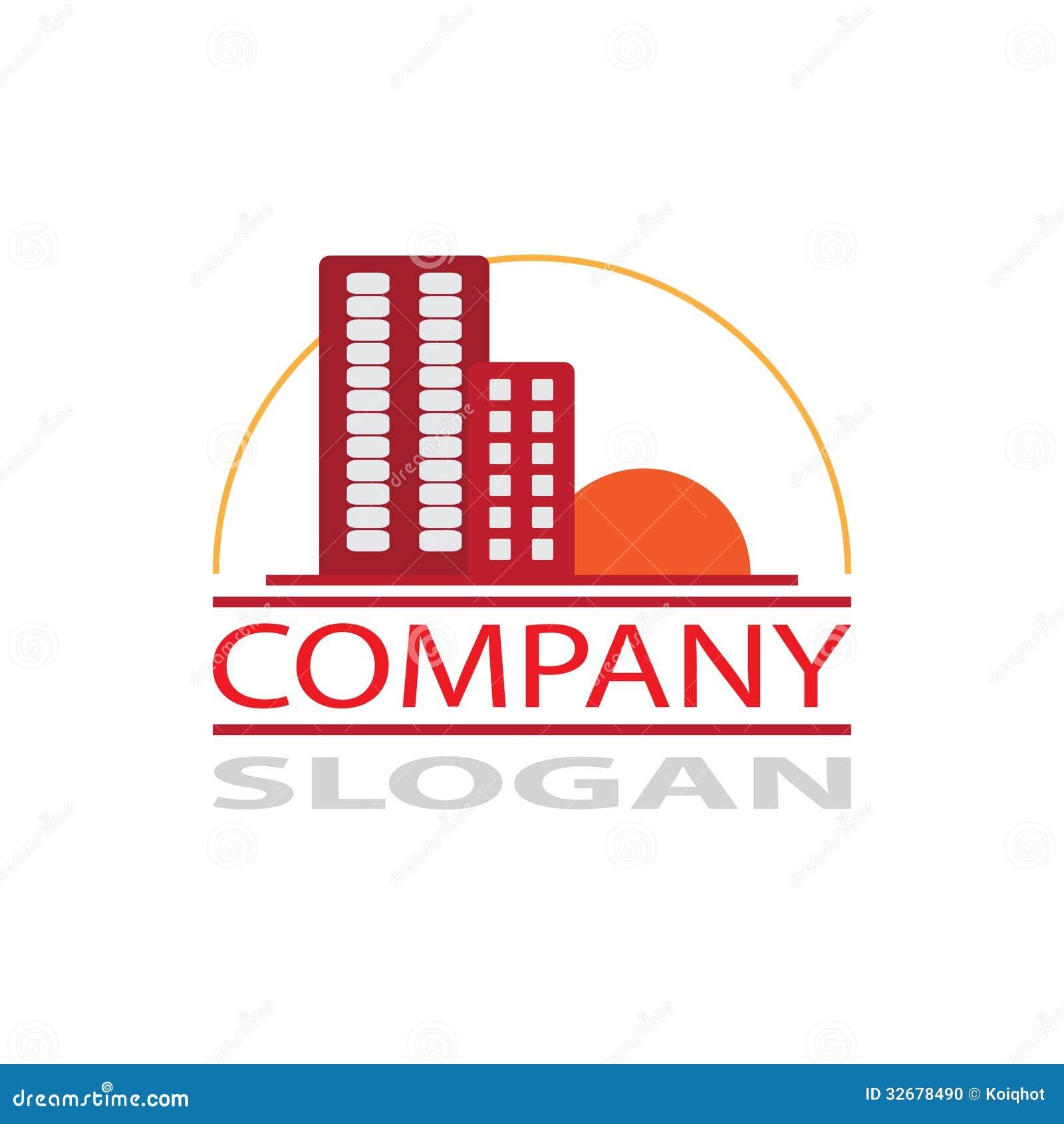 Real estate company logo stock photo image 32678490