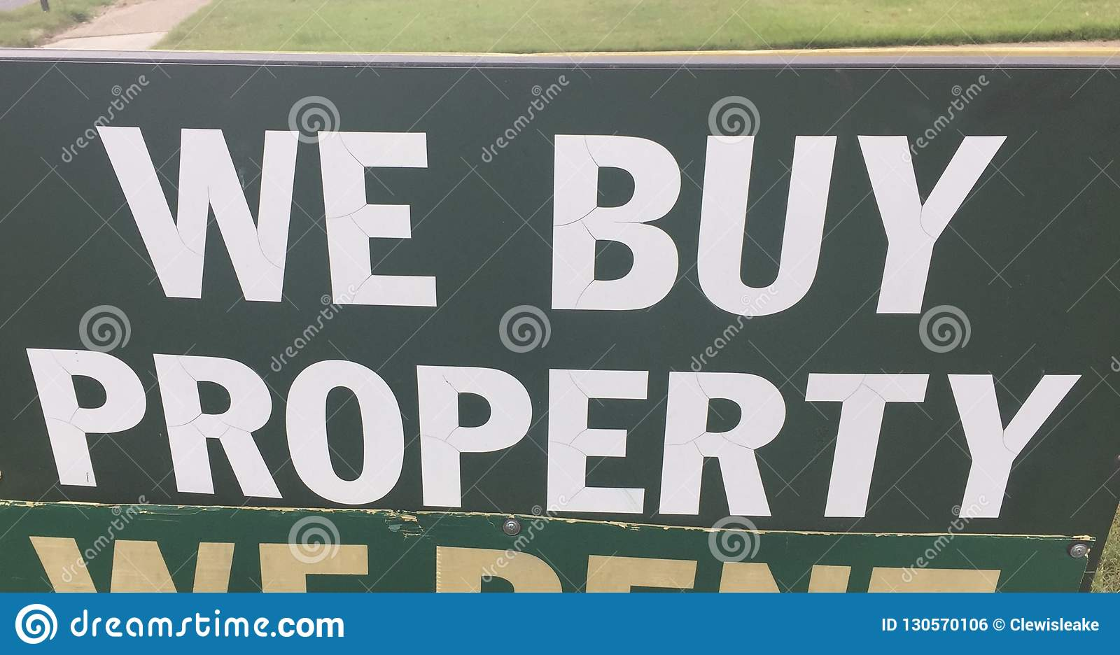 Real Estate Property Buying Company Stock Photo - Image of