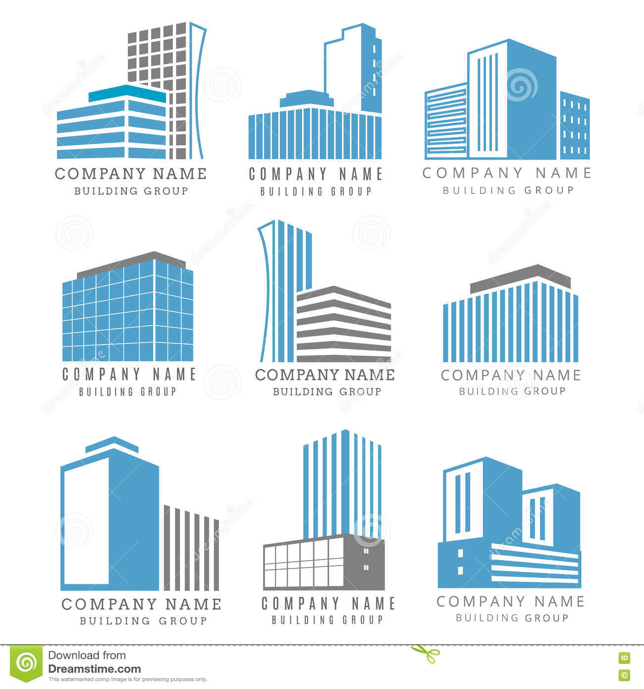 Real estate company vector logotype icon cartoon vector for Companies that build homes