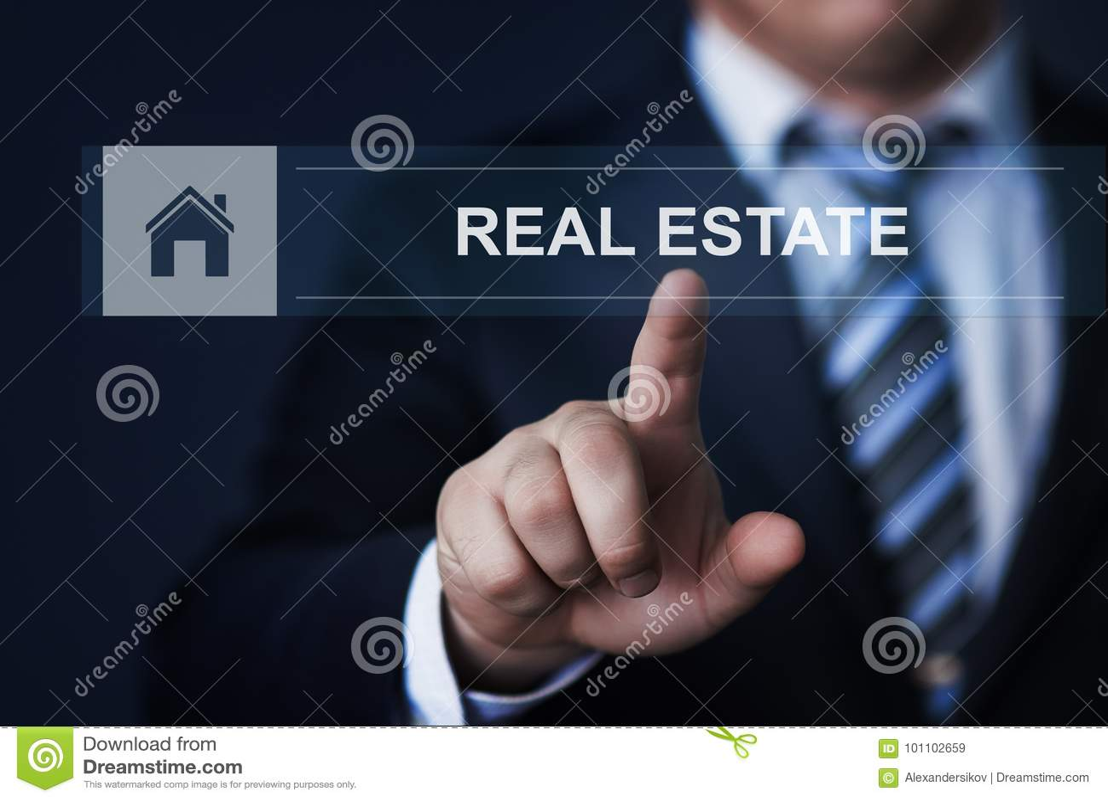 Real Estate-de het Beheershuur van het Hypotheekbezit koopt concept