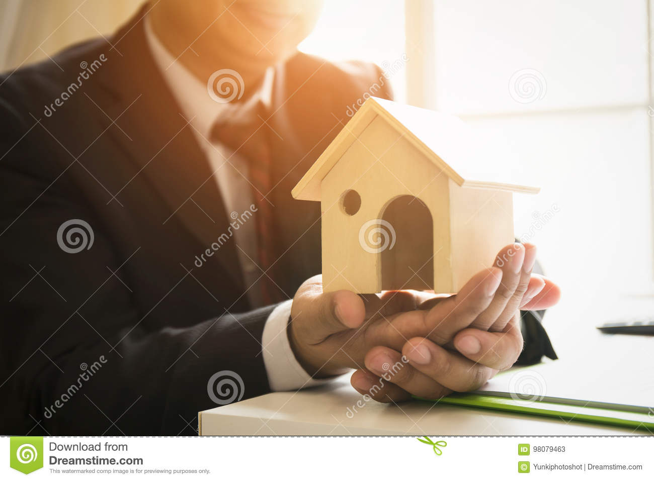 Real Estate Deal And Long Term Investment Portfolio Stock Image