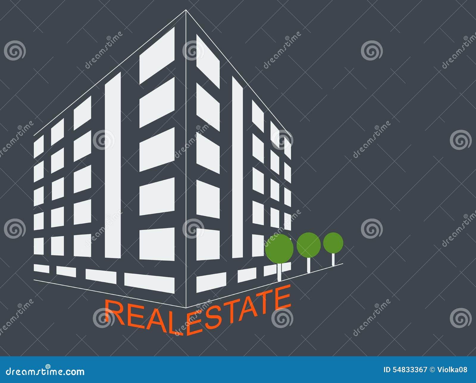 Real Estate Development Icon : Real estate development architecture concept symbol stock