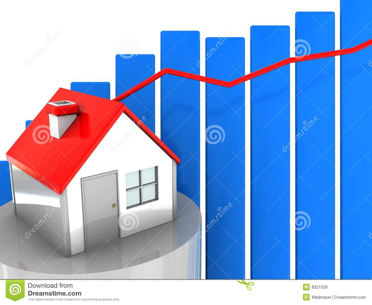 Real Estate Diagram Stock Illustration  Illustration Of